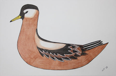 Untitled (Bird) by Pauojoungie Saggiak 225 Artist from Cape Dorset, 2016