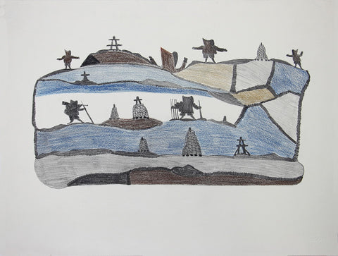 Untitled (Travelling Hunters)