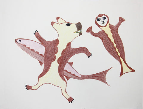 Untitled (Bear, Fish & Sedna)