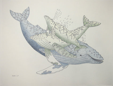 Untitled (Whales)