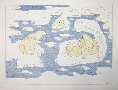 Untitled (Bears on Ice)