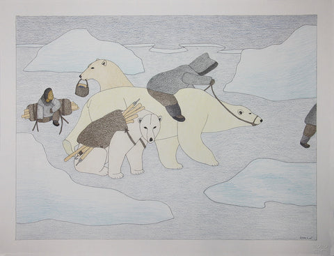Untitled (Hunting with Bears)