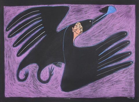 Untitled (Raven Transformation)