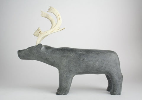 Standing Caribou