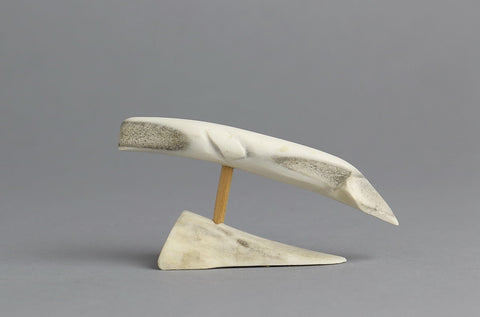 Beluga Whale by Unidentified Inuit Artist from Kivalliq?