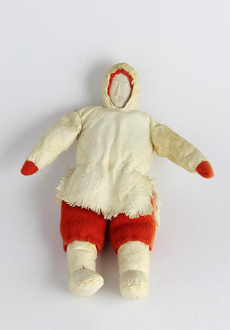 Doll with Red Mitts, c.1970