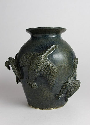 Flying Geese Pot, 1997