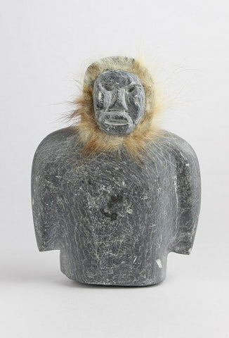 Bust of Man with Fur, c.1960