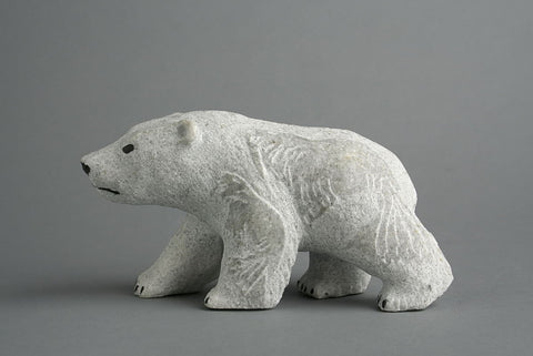 Bear by Esa Kriptana Inuit Artist from Igloolik