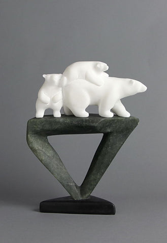 Trinity by Idris Moss Davies Inuit Artist from Broughton Island