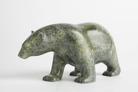 Bear by Ashevak Adla Inuit Artist from Cape Dorset