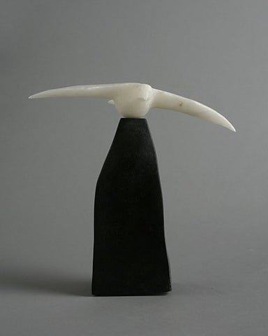 Raven by Bill Nasogaluak Inuit Artist from Tuktoyaktuk