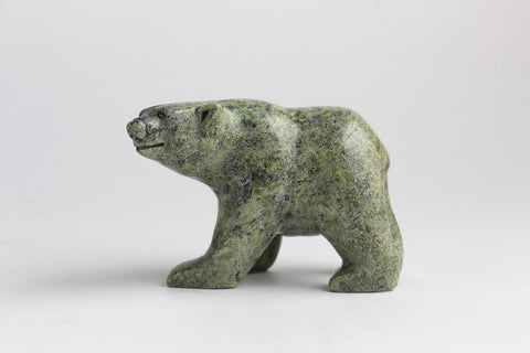 Serpentine Bear by Samonie Shaa Inuit Artist from Cape Dorset