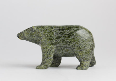 Serpentine Bear by Noah Jaw Inuit Artist from Cape Dorset