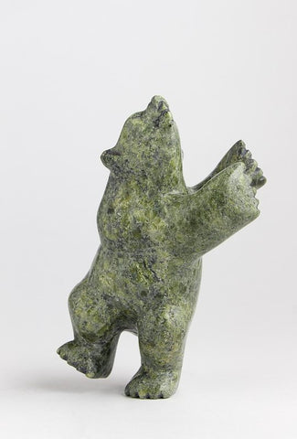Serpentine Dancing Bear by Samonie Shaa Inuit Artist from Cape Dorset