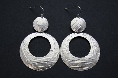 Gathered Water Earrings