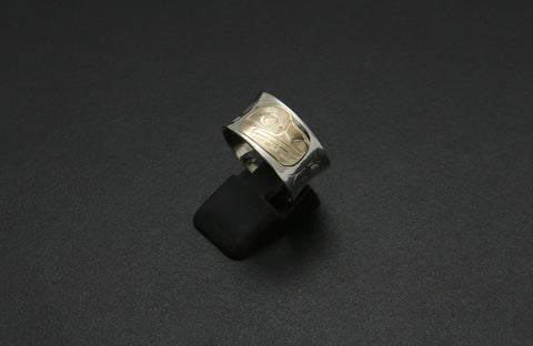 Bears Ring with Reverse Dome