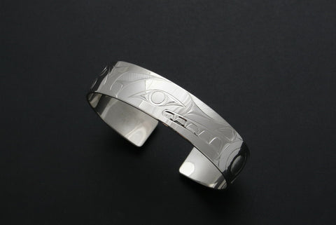 Wolf and Moon Bracelet