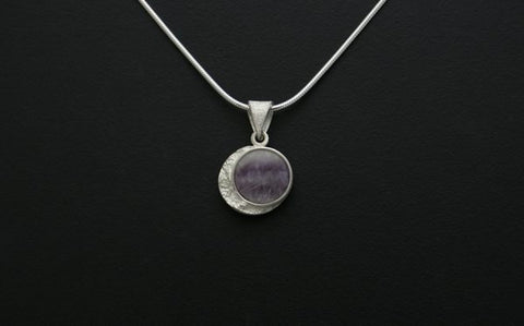 Frozen Moon Pendant