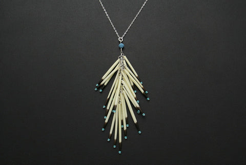 Porcupine Tail Necklace