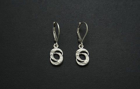 Double Crescent Moon Earrings