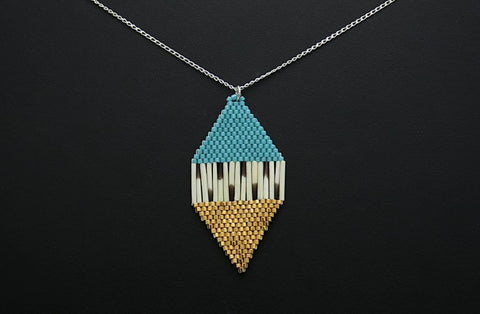 Diamond-Shaped Necklace