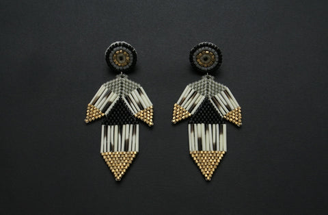 Petal Earrings (Studs)