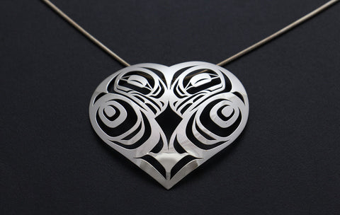 Eagle Hearts Pendant