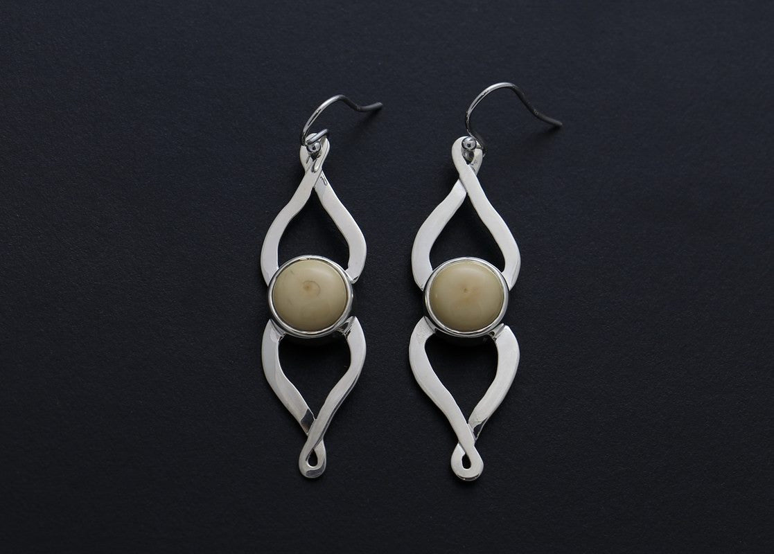 Sun Dog Earrings - Inuit Gallery of Vancouver Ltd