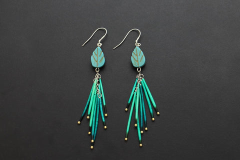 Fireworks Earrings (Tourquoise)