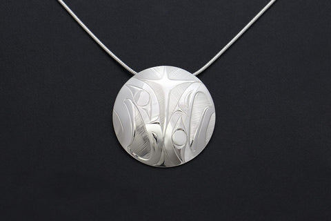 Round Eagles Pendant