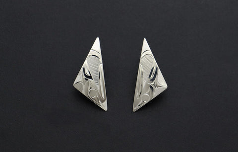 Triangle Eagle Studs