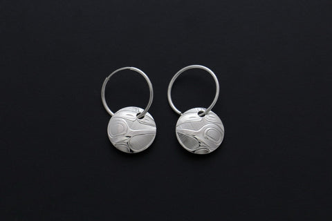 Round Hummingbird Hoops