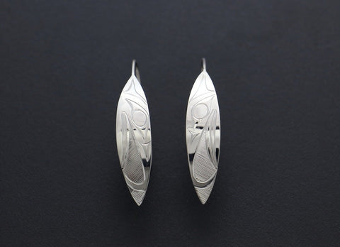 Eagle Leaf Earrings