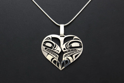 Two Wolves Pendant