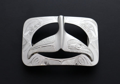 Whale Tail Belt Buckle