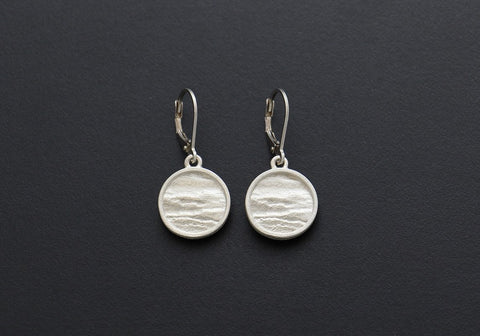 Origins Drop Earrings with Rim