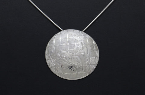 The Trapped Salmon Pendant