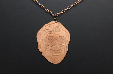 ¨Nic Cage¨ Copper Necklace