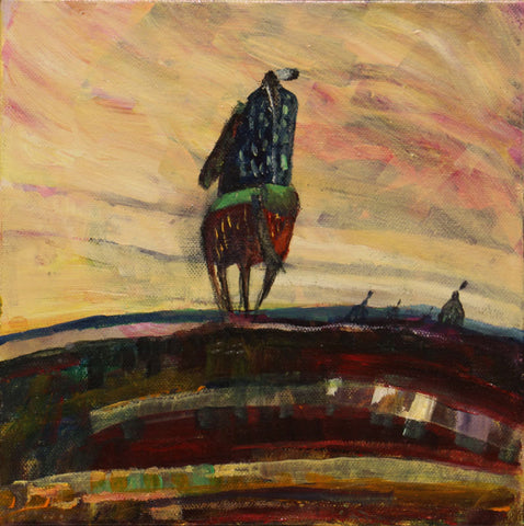 Untitled (Horse Rider)
