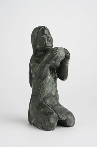 Woman by Nancy Pukingrnak Aupaluktuq Inuit Artist from Baker Lake