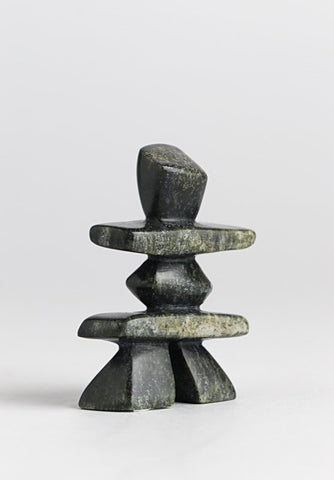 Inukshuk by Kove Ottokie Inuit Artist from Cape Dorset