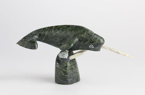 Narwhal by Lyta Josephie Inuit Artist from Iqaluit