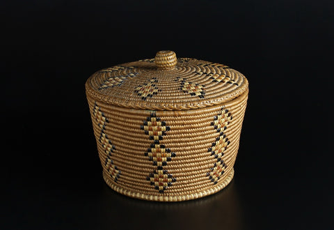 Lidded Basket, c.1900
