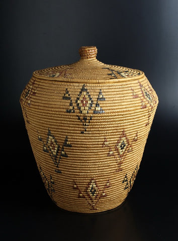 Lidded basket, c.1935