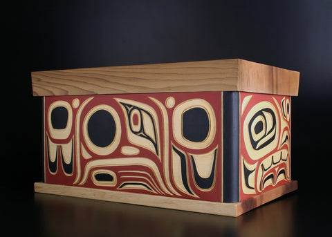 Double Eagle Bentwood Box