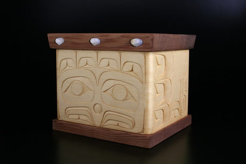 Eagle Design Bentwood Box