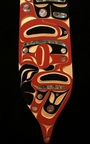Thunderbird and Whale Steersman Paddle