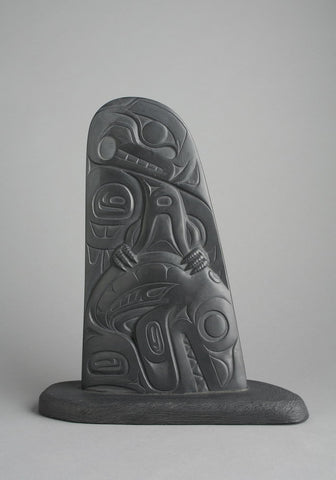 Haida Thunderbird Capturing the Killerwhale