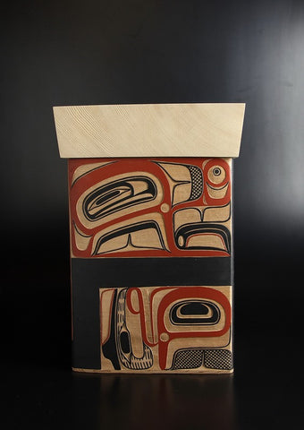 Four Eagles Bentwood Box